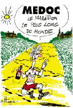 Je cours, tu cours, il court, nous courons...: Le Médoc : plus qu'un marathon, un état d'esprit ! Marathon du Medoc!!