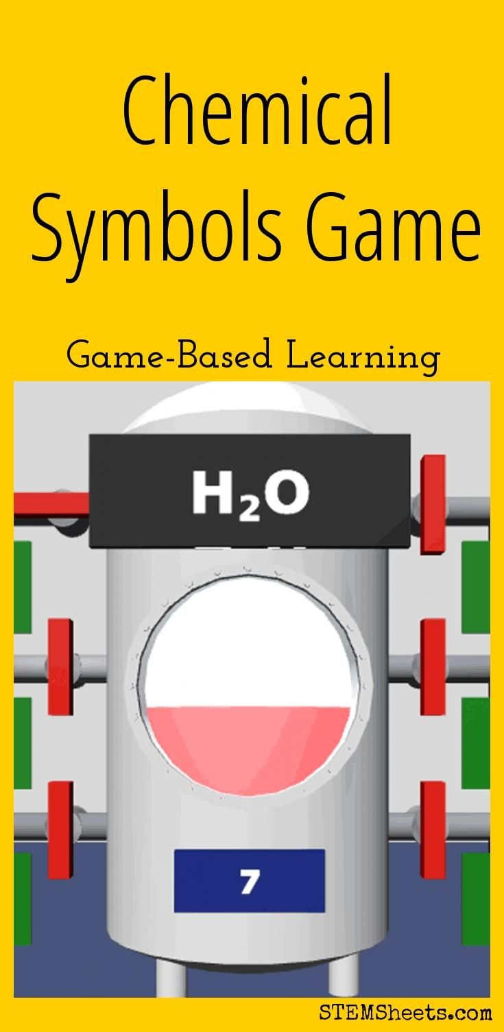 39 best science stem resources images on pinterest chemistry practice chemical symbols for the elements of the periodic table with this free game based learning resource includes symbols for elements 1 to biocorpaavc Gallery