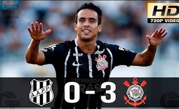 Ponte Preta 0 x 3 Corinthians - Gols & Melhores Momentos (HD) - Final Paulistão 2017 - 1° Jogo