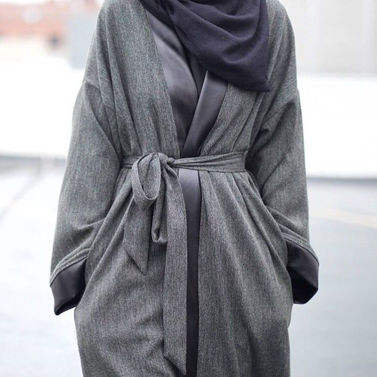 IG: Mode.ste || Abaya Fashion || IG: Beautiifulinblack