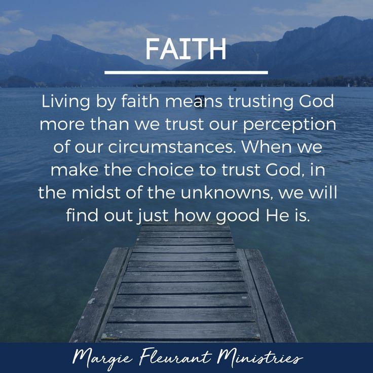 faith means trust trust - 736×736