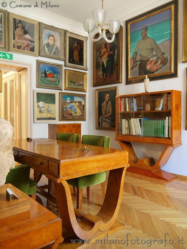 Carrà, Sironi, Casorati, Fontana, Boccioni e tanti altri grandi artisti del nostro Novecento. La visita è gratuita.  http://www.fondazioneboschidistefano.it/ws/