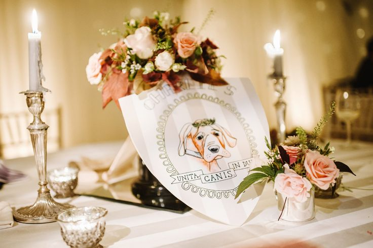 Country club inspired table decorations at Autumn Iscoyd Park wedding, photographed by Ann-Kathrin Koch www.annkathrinkoch.com - Film Wedding Photography