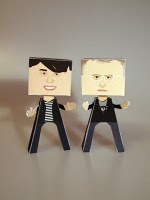 Make your own Brian Cox and Robin Ince