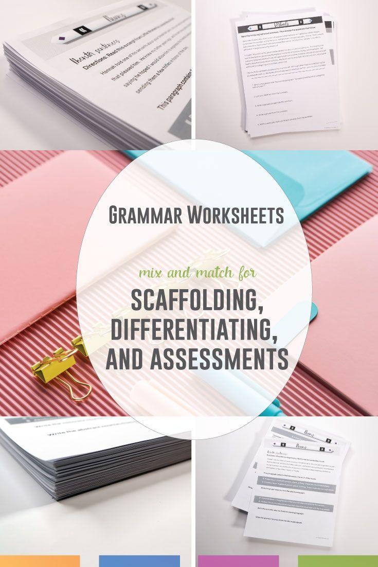 Grammar Worksheets Grammar Worksheets Middle School Language Arts Lessons Language Arts Lesson Plans [ 1102 x 735 Pixel ]