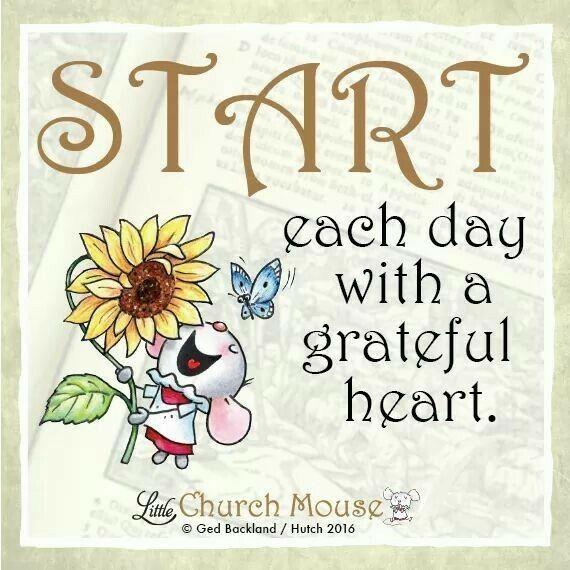 A wonderful way to start every day