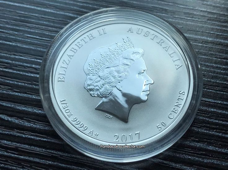 2017 AUSTRALIAN LUNAR SERIES II YEAR OF THE ROOSTER BU SILVER 1/2OZ