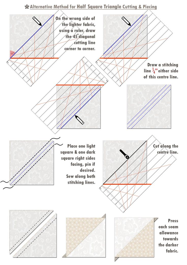 7a Iced Tea Collection Quilt pattern piece 4
