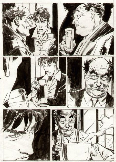 Carnevale - Dylan Dog Color Fest page Comic Art
