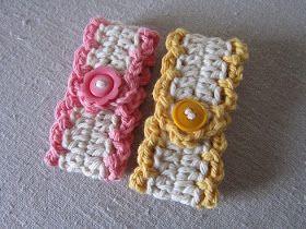Miss Abigail's Hope Chest: Tutorial - Crocheted Towel Tender