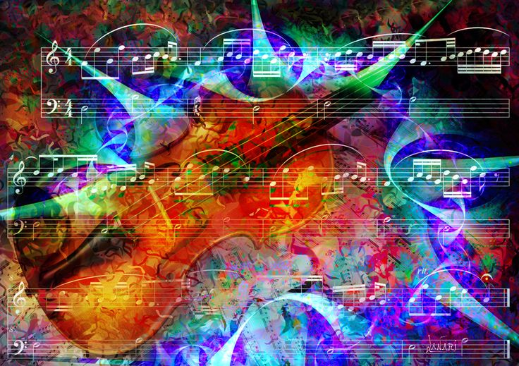 Fractal on the music 7