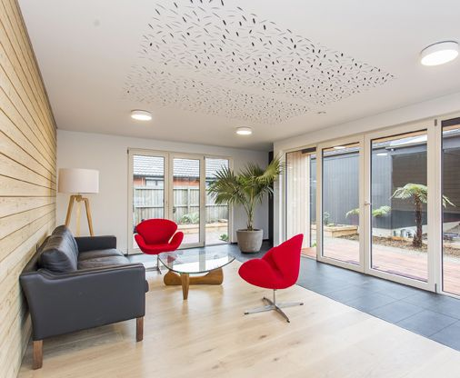 A beautyful woody living room deisgned by Bob Burnett from Bob Burnett Architecture #ADNZ #architecture #livingroom