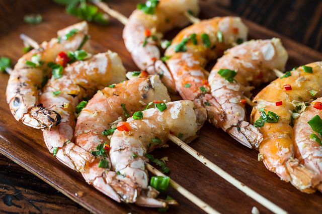 Chinese Grilled Shrimp -- simple recipe and how to video http://www ...