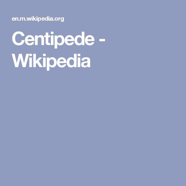 Centipede - Wikipedia