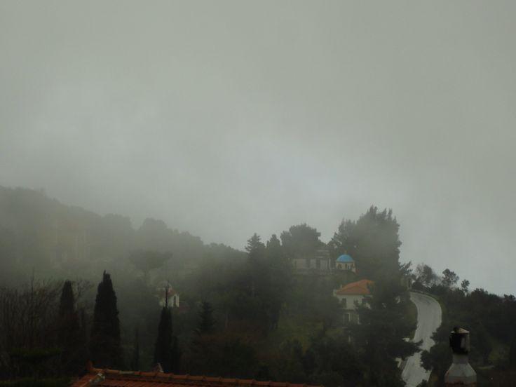 Landscape in the Mist..! Winter Kimi