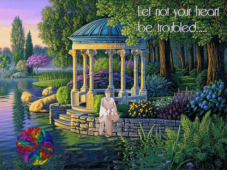 Image result for serenity garden painting gifs