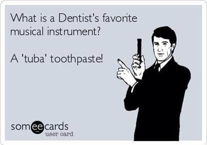 What's a Dentist's favorite musical instrument? From your dental internet marketing company, Smile Savvy. www.smilesavvy.com #SmileSavvyInc #dental-internet-marketing