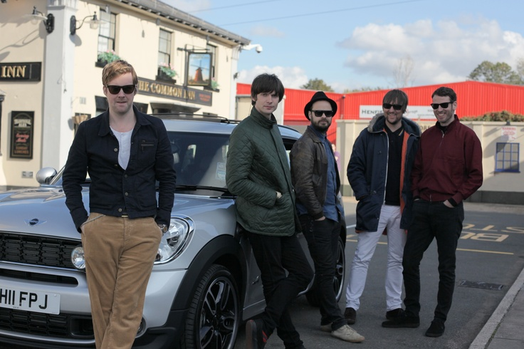 "In Kaiser Chiefs's smash hit ""Kinda Girl You Are,"" the boys of Leeds hung out with this MINI. We have no doubts about their taste in music...or cars."