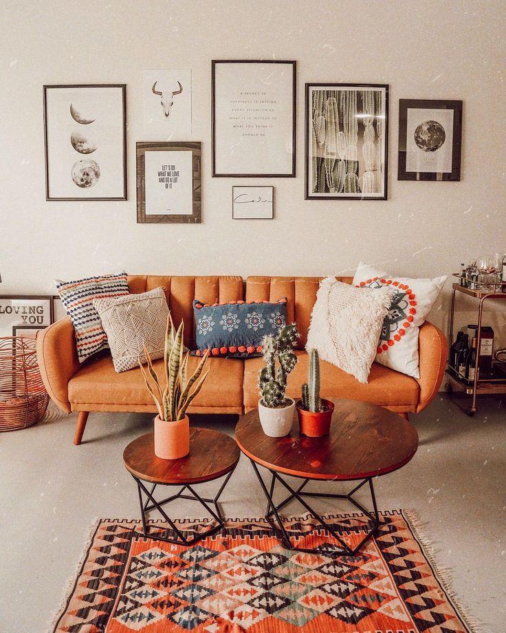 Fühlen Sie sich von dieser Boho-Chic-Wohnkultur inspiriert? Besuchen Sie www.delightfull.e …..