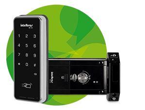 KaBuM! - Fechadura Digital Intelbras- FR200- 4674000