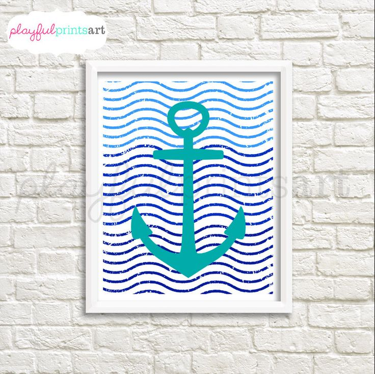 A personal favorite from my Etsy shop https://www.etsy.com/ca/listing/267601817/anchor-waves-8x10-print-digital-download