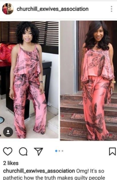 According information revealed on instagram page @churchill_exwives_association with reference to interview granted by Tonto Dikeh shows she been having lesbian affairs with her partner one Yutee a well known bisexual in Abuja metropolis and beyond. The video further revealed that she packed out from the ex- husband house with nothing and all she had was bought by her supposed lover Yutee.The instagram page further claimed that the controversial actress Tonto Dikeh has history of wayward and…