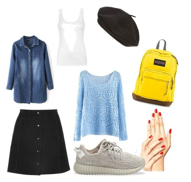 """""""Гулять Кристи"""" by olga-lukina on Polyvore featuring adidas Originals, JanSport, Parkhurst and Ally Fashion"""