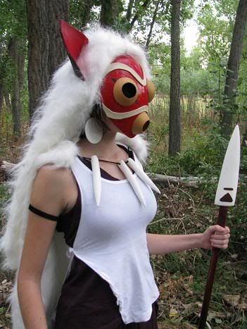 Princess Mononoke cosplay
