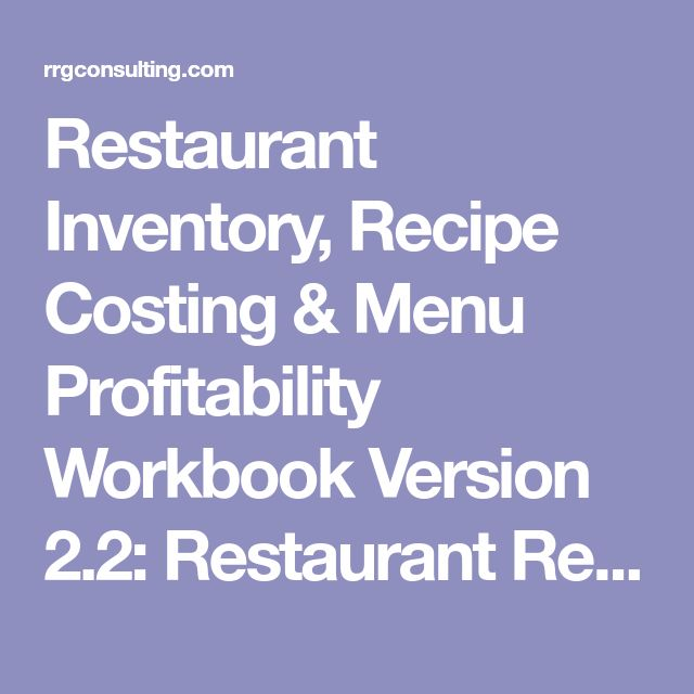 Sherry Xu (s123087x) on Pinterest - Restaurant Inventory Spreadsheet Template