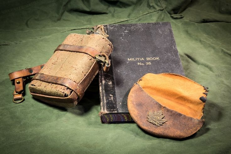 Canteen and militia book: Part of the Ruthven Park's collection