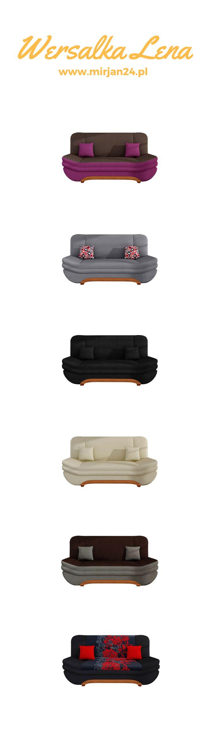 Don't you know what your guests will sit down on? Choose one of sofa Lena.  Click on the photo ;)  Nie wiesz na czym usiądą Twoi goście? Wybierz jedną z Wersalek Lena. Kliknij w zdjęcie ;)  #sofa #goście #dom #sweethome #livingroom #salon #nowoczesny #modern #kanapa #wersalka #mirjan24
