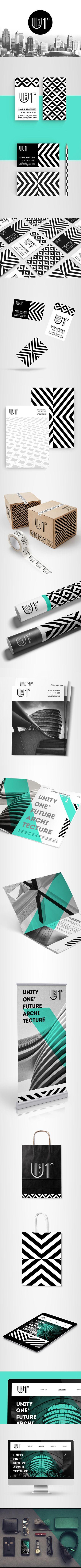 Identity concept created for modern architecture studio.