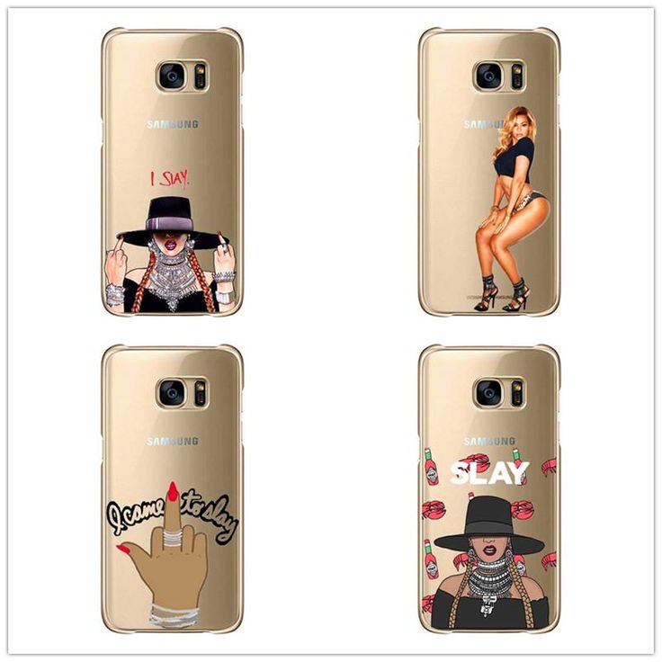 I Slay Beyonce Case Fundas For Samsung Galaxy S3 S4, S5 mini plus S6 S7 Edge Note 2, 3, 4, 5 Hard plastic cover phone cases