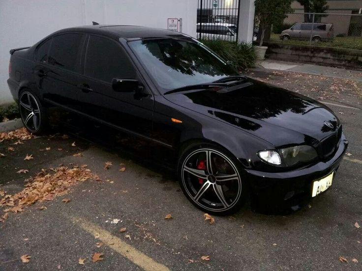 BMW E46 325i black