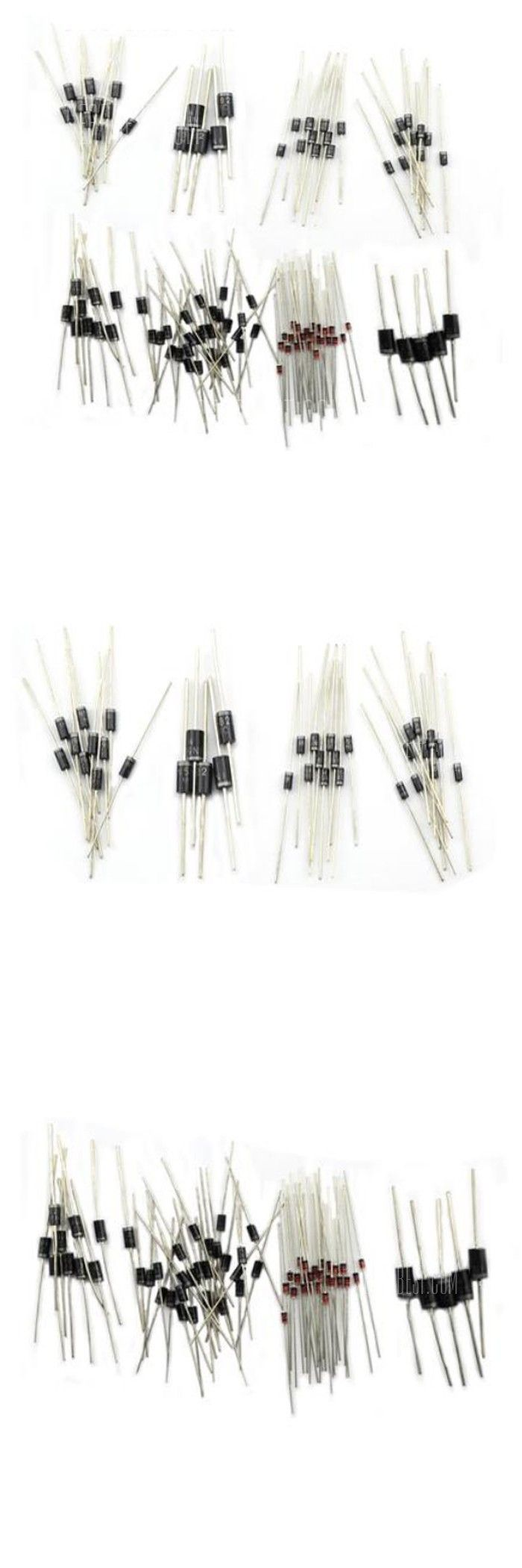 DIY Common Use Semiconductor Diode Set - 100PCS
