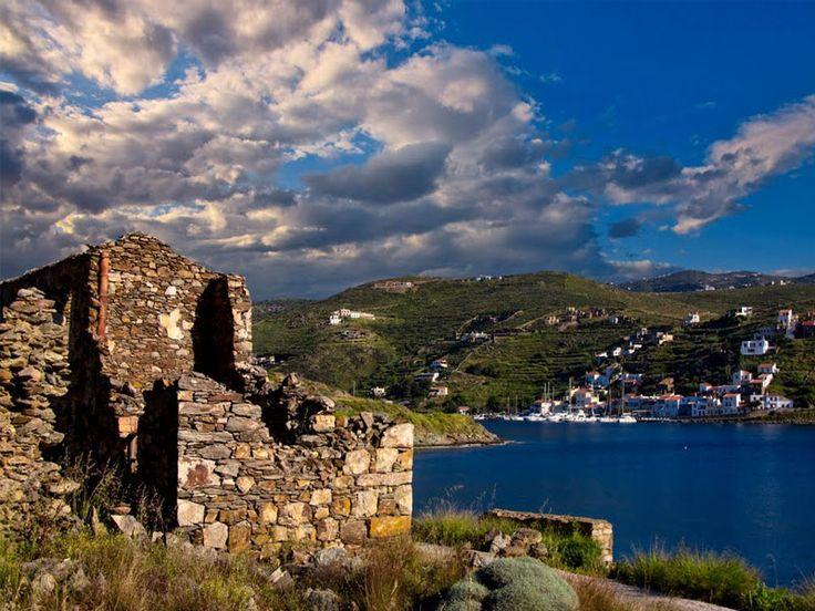 Vourkari Village, Kea #mysteriousgreece