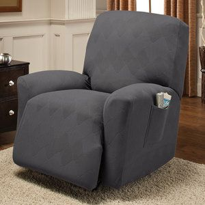 $36.64 - Innovative Textile Solutions Optics Recliner Stretch Slipcover