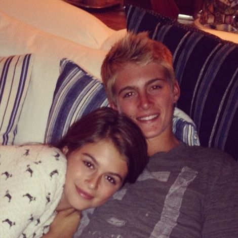 Cindy Crawford's children: Kaia and Presley