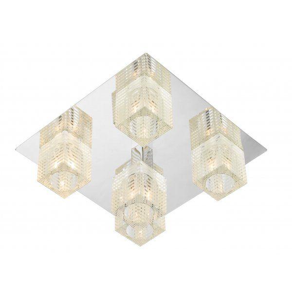 Buy Modern Square Flush Lighting Ideal for low ceilings