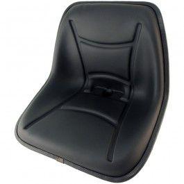 Asiento para motocultor, mini tractor, tractocarro, corta-césped... Asiento cubeta de 390 o 470 mm de anchura y juego de guías para el asiento.