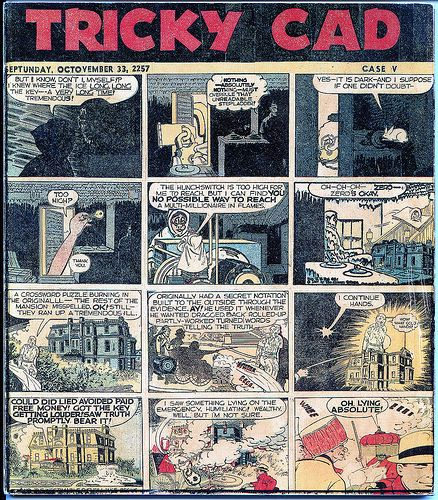 "Poems and Poetics: Jess (Collins): Images from ""Tricky Cad"" with an anecdote, in memory"