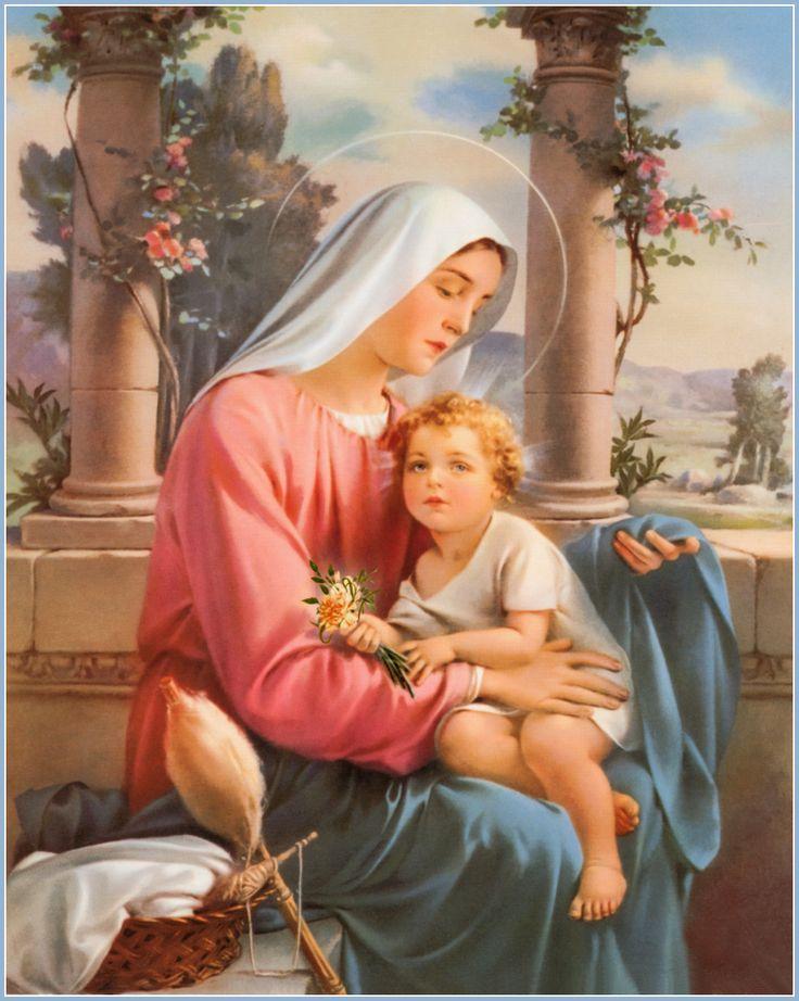 Resultado de imagen de maternidad divina