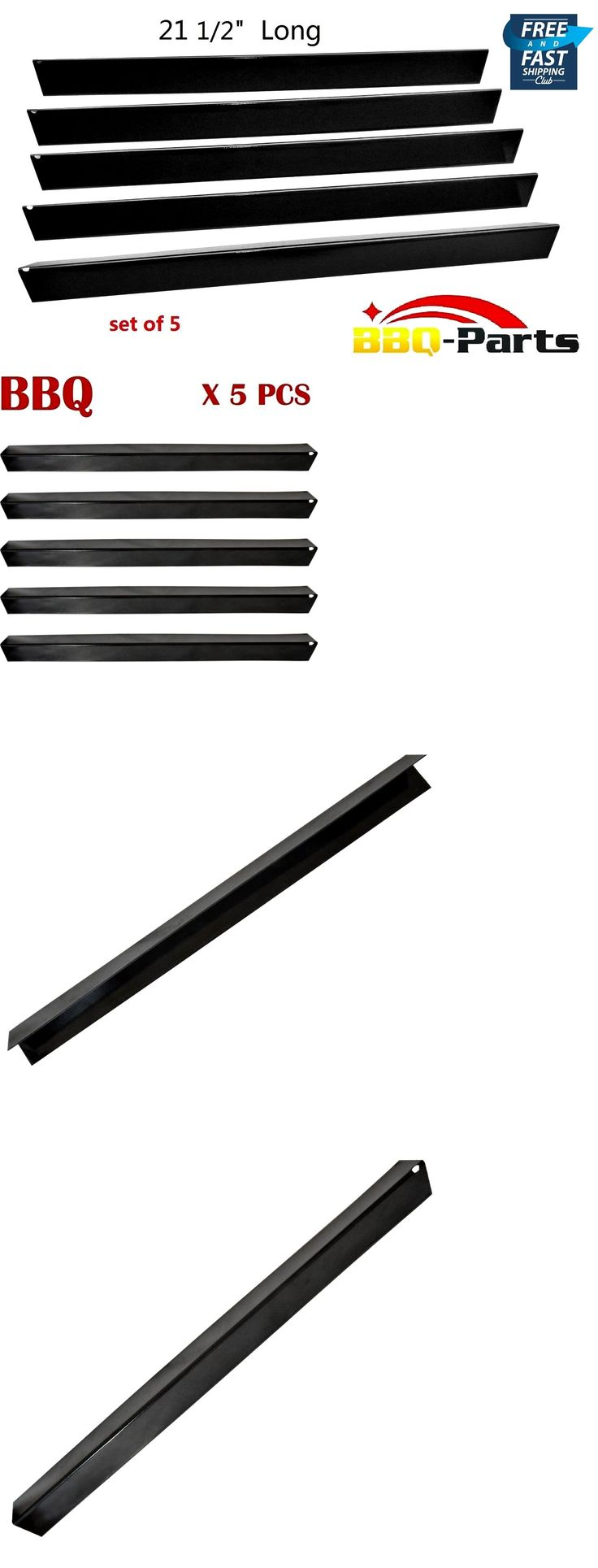 BBQ and Grill Replacement Parts 177018: Bbq Gas Grill Parts For Weber Genesis Spirit Porcelain Steel Flavorizer Ba 5 Pcs -> BUY IT NOW ONLY: $33.92 on eBay!