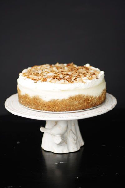 Triple Coconut Cheesecake recipe.  What if everyone on  Gilligan's Island got tired of Mary Ann's Coconut Cream Pie? She could make cheesecake!