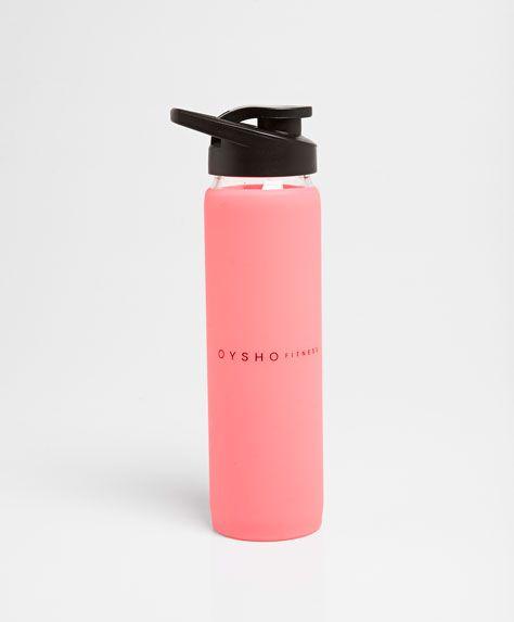 Bottiglia vetro silicone - OYSHO