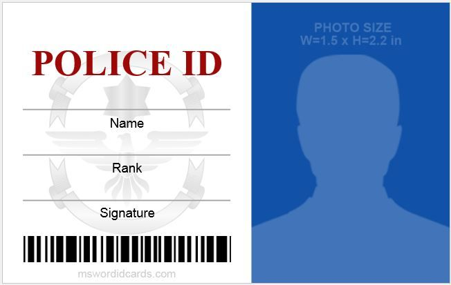 Office Id Cards Download At Http Mswordidcards Com 5 Best Office Id Card Templates Id Card Template Employees Card Words