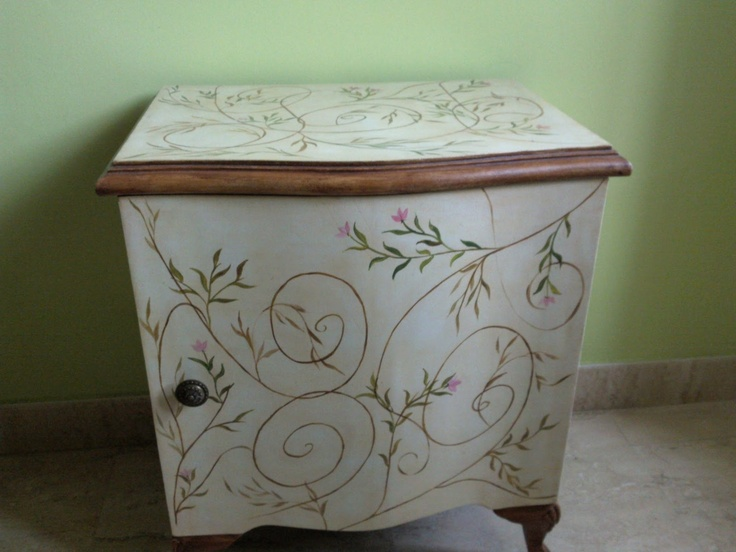 Pin by María José Campos on Muebles pintados (Painted furniture)  Pinterest