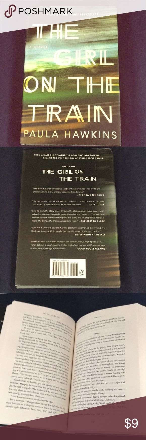 The girl on the train hardcover Great condition, NYT bestseller, great thriller!! Other
