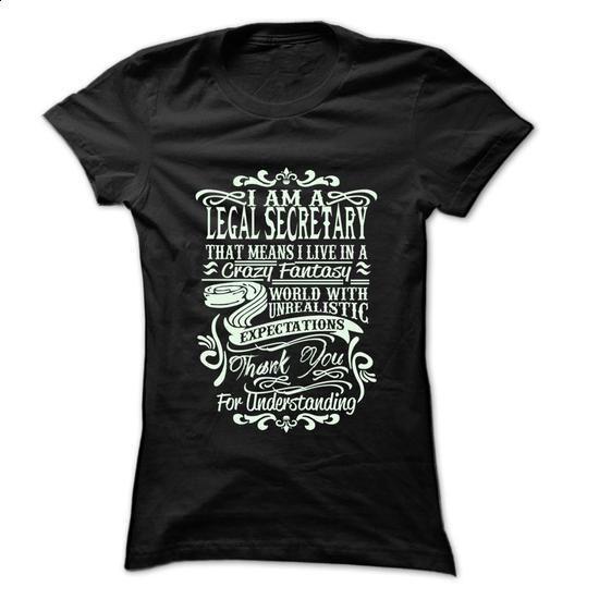 Job Title Legal secretary ... 99 Cool Job Shirt ! - #women hoodies #linen shirt. CHECK PRICE => https://www.sunfrog.com/LifeStyle/Job-Title-Legal-secretary-99-Cool-Job-Shirt-.html?60505