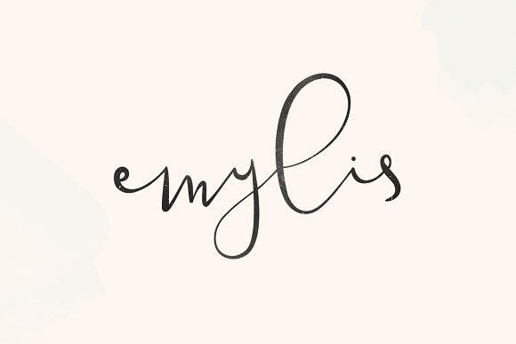 Emylis by vuuuds on @creativemarket